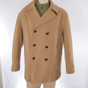 VTG 90s Tommy Hilfiger Wool Pea Coat Jacket